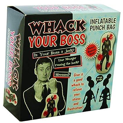 Amazon.com: Whack su jefe Saco de boxeo inflable por DGP ...