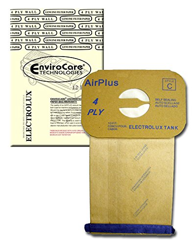 Electrolux Style C Bags (12) to Fit Aerus/electrolux