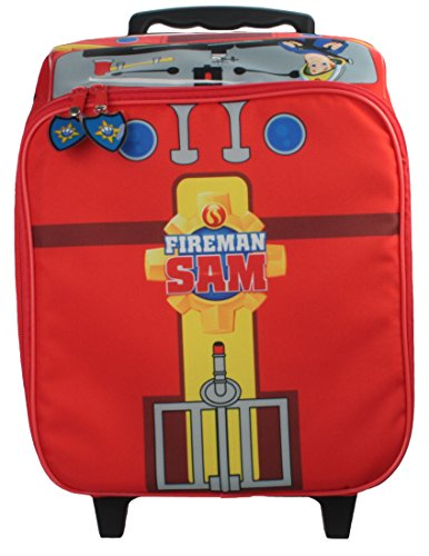 Fireman Sam Character Luggage Bag