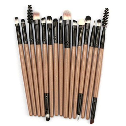 Makeup Brushes Set, Yanvan 15PCS Makeup Brush Set Cosmetics