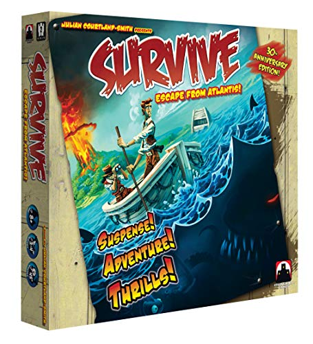 Stronghold Games Survive Escape from Atlantis 30th Anniversary Edition (Best New Pc Strategy Games)