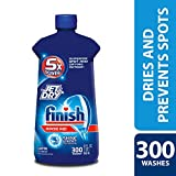 Finish Jet-Dry Rinse Aid, 32oz, Dishwasher Rinse Agent & Drying Agent