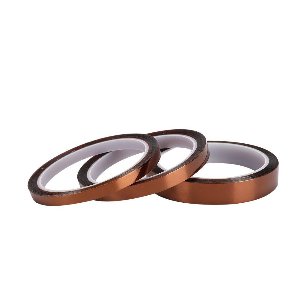 Copper Foil Tape, Double-Sided Conductive Copper Foil Tape for Guitar & EMI Shielding, Slug Repellent, Paper Circuits, Electrical Repairs, Grounding