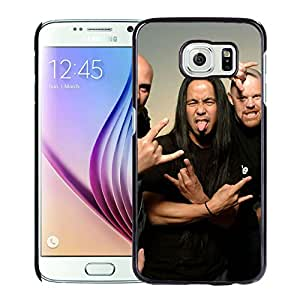 Beautiful Designed Cover Case With Agent Steel Tongue Scream Hands Bald For Samsung Galaxy S6 Phone Case