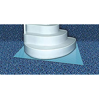 International Leisure 3' x 4' Swimming Pool Step Ladder Mat or Step Pad - Liner Protection! … : Garden & Outdoor