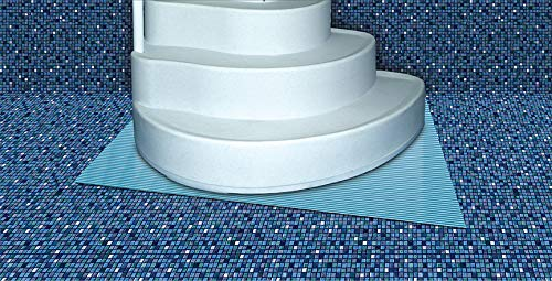(International Leisure 3' x 4' Swimming Pool Step Ladder Mat or Step Pad - Liner Protection! ...)