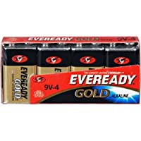 ENERGIZER Eveready Alkaline Battery for General Purpose 9V - 4PK / A522-4 /