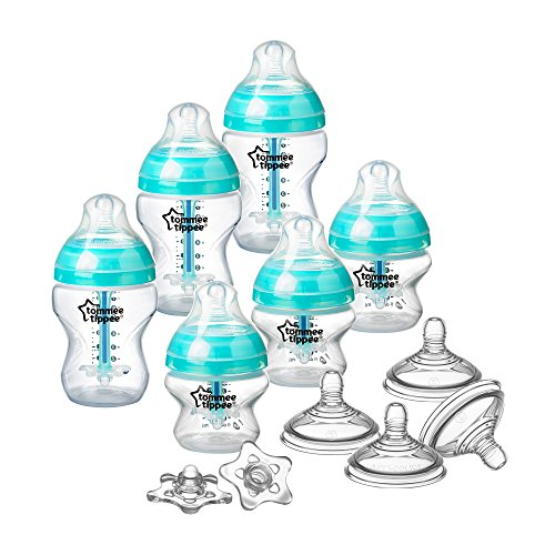 Tommee Tippee Advanced Anti-Colic Newborn Bottle - Breastfeeding Kit Nature