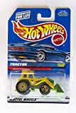 Mattel Hot Wheels 1998 1:64 Scale Green & Yellow Tractor Die Cast Car Collector #145
