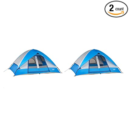 783d6141e7f Wenzel 10  x 8  Pine Ridge 5 Person Lite Reflect Dome Family Camping Tent