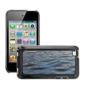 Cas Coq Case Cover // M00421399 Superficie del agua Ondulaciones Liquid // Apple ipod Touch 4 4G 4th