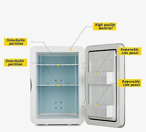 Refrigerador portátil del coche, dormitorio pequeño congelador ...