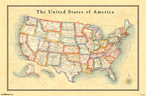 Map Of USA Amazoncom - Usa on the map