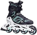K2 Skate Women's VO2 90 Pro Inline Skate, Black White Mint, 9