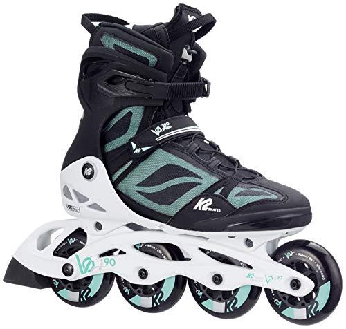 K2 Womens Vo2 90 Pro Inline Skates (Best Ice Skates 2019)