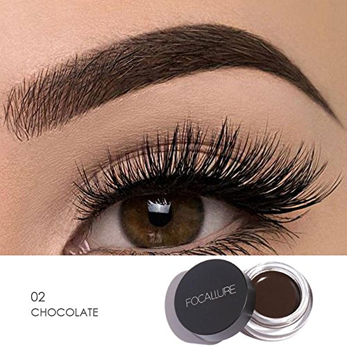 Amazon.com : Brow Pomade, Brows Gel Cream, niceeshop(TM) Waterproof and Smudge-Pproof Eyebrow Dye Cream, Long Lasting Eyebrow Pomade Eyebrow Makeup : Beauty