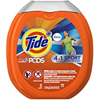 61-Count Tide PODS Plus Febreze Sport Odor Defense 4-in-1 HE Turbo Laundry Detergent Pacs Tub (Active Fresh Scent)