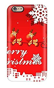 For Iphone 6 Premium Tpu Case Cover Holiday Christmas Protective Case by icecream design