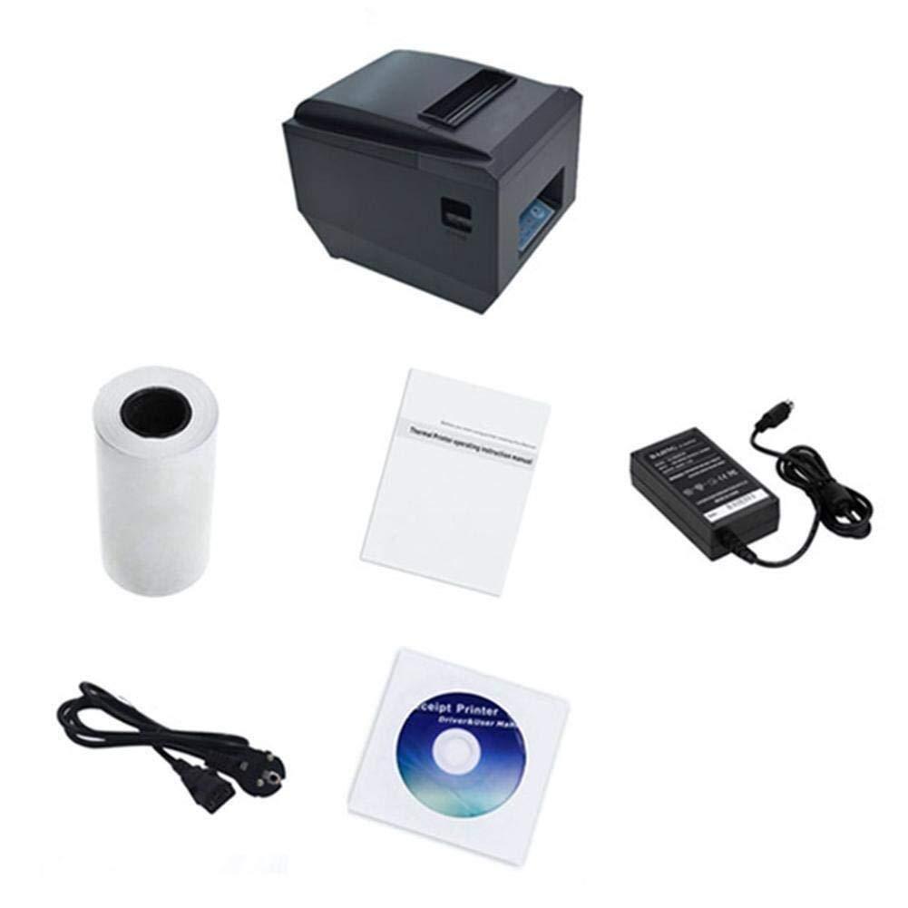 Impresora de Recibos Impresora térmica de recibos 80 mm Portátil ...