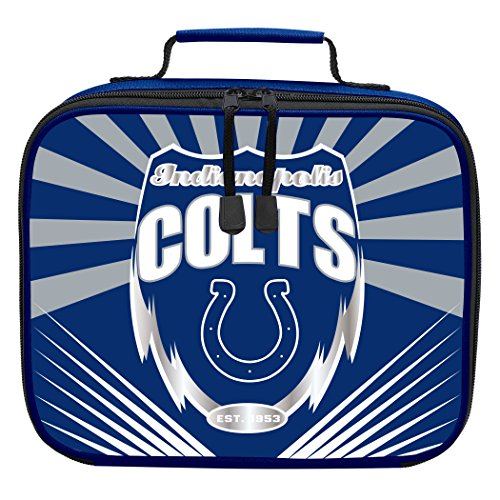 The Northwest Company Officially Licensed NFL Indianapolis Colts Lightning Kids Lunch Kit, Blue
