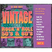 Vintage Collectibles Rock 'N' Roll 50's & 60s Set 3