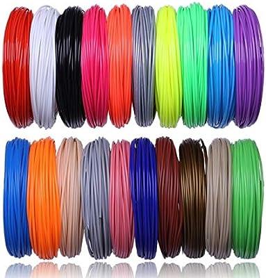 FJJ-DAYIN, 20 Color 200 M o 10 Colores 100 Metros Impresora 3D ...