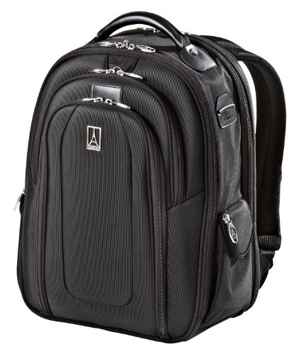 Travelpro Luggage Crew 9 Business Backpack, Black, One Size by Travelpro