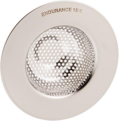 RSVP Endurance 18/8 Stainless Steel Pierced Wide Rim Sink Strainer (SINK-4)