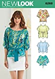 Simplicity Creative Patterns New Look 6268 Misses' Tunics and Tops, A (X-Small-Small-Medium-Large-X-Large)