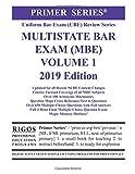 Rigos Primer Series Uniform Bar Exam (UBE)  Multistate Bar Exam (MBE) (Volume 1)