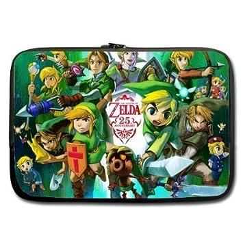 refreshus Legend Of Zelda personalizado funda ordenador funda blanda para MacBook Pro de 13 pulgadas (doble lados): Amazon.es: Electrónica