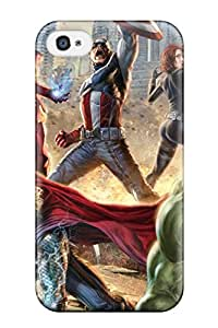 4/4s Scratch-proof Protection Case Cover For Iphone/ Hot The Avengers 92 Phone Case