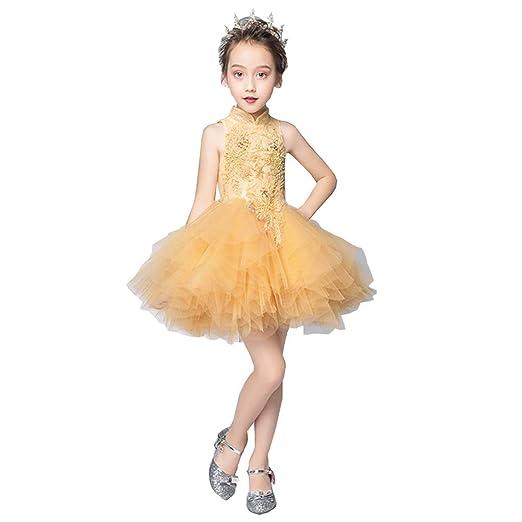 Ropa para niños Traje de la Danza Pasarela Piano Traje del ...