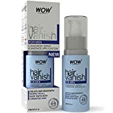 Depilatory Cream Natural - New WOW Hair Vanish For Men - All Natural Hair Removal Cream, Lotion Moisturizes Skin & Reduces Growth, Hair Thickness & Appearance - New Improved Formula
