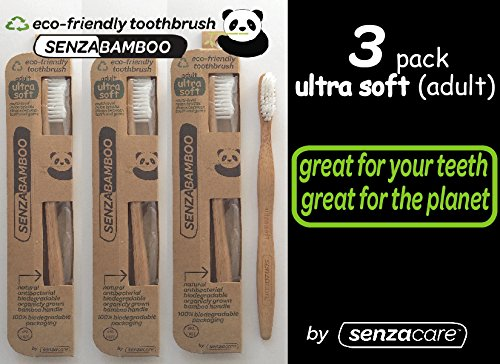 Ultra Soft Adult SenzaBamboo Eco-friendly Toothbrush (3)
