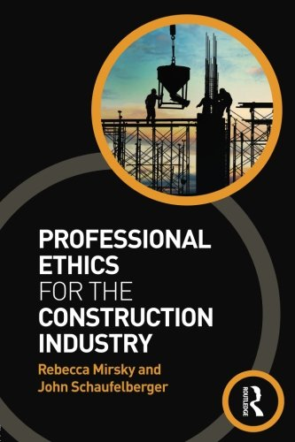 Pdf Home Professional Ethics for the Construction Industry