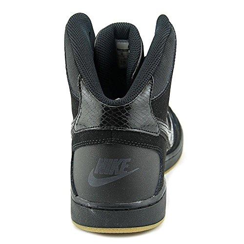 Nike Mens Figlio Di Forza A Metà Inverno Scarpe Da Basket Nere