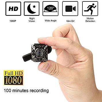 SQ10 1080P Mini cámara 12.0MP IR cámara de visión nocturna Mini cámara DV pequeña cámara