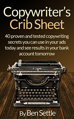 Copywriters Crib Sheet Copywriting Tomorrow ebook