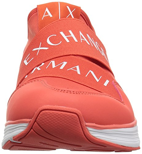 Granadine A X Band Mens Elastic Sneaker Armani Exchange Logo 9550608P414 Red x7Zw4zHx