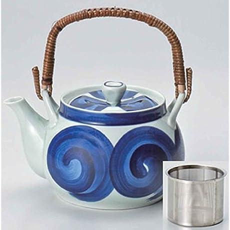 Spiral Set Of 2 Japanese Teapots Porcelain Made In Japan