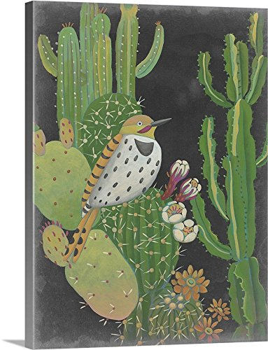 Chariklia Zarris Desert Twilight cactus wall art