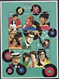 Tanzania - Rock Stars Dylan, Aretha, Springsteen 9 Stamp Sheet 20E-060