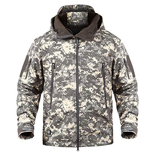 Coat Militare Giacca Acu Caldo Inverno Okayit Softshell Jacket Camouflage Uomo Cappuccio Con Army Vestiti Impermeabile Tattici Antivento qFnwUgxA4