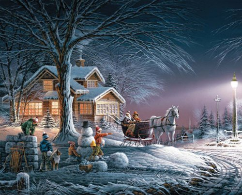 Terry Redlin Collection Jigsaw Puzzle 1000 Pieces Toys Christmas Gift