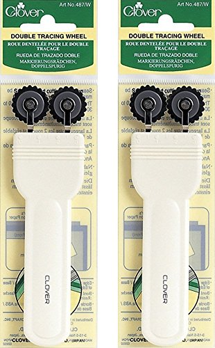 Clover Double Tracing Wheel (2 - Wheel Double Tracing