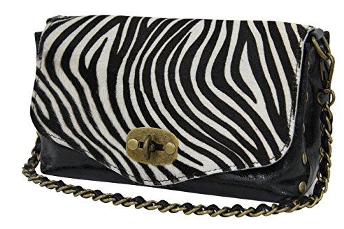 AMBRA Moda - Bolso Mujer cebra
