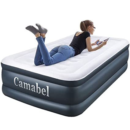 Amazon.com: Camabel Twin Air Mattress with Built in Pump Luxury
