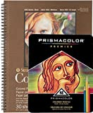 Prismacolor Premier Colored Pencils, Set of 48 Assorted Colors with Strathmore 400 Series Sketch Pad