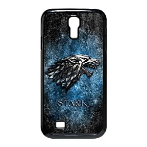 Personalized Design Game of Thrones Silver Wolf Stark Clan SamSung Galaxy S4 I9500 Case, Wholesale Hot Selling Game of Thrones Silver Wolf Stark ClanGalaxy S4 Case